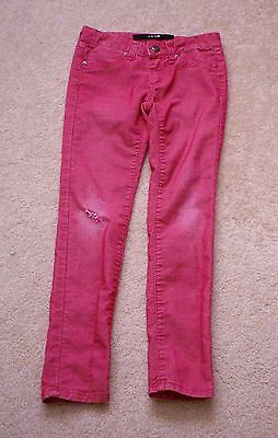 Red Joe's Jeans size 7 youth  distressed