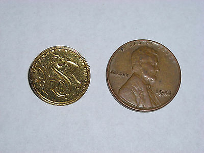 Indian Head Princess $1 Dollar Gold Coin 1854-1889 Rememberance Pin Brooch