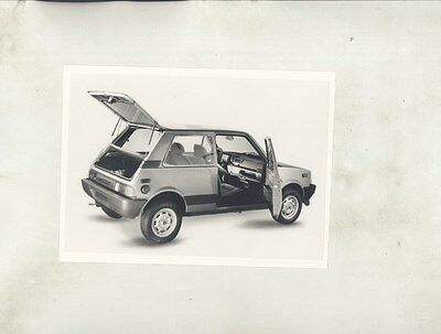 1992 Innocenti 500 Microcar ORIGINAL Factory Photograph Lot ww7392