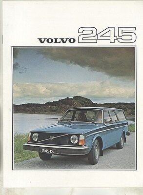 1976 Volvo 245 Brochure Dutch my7128
