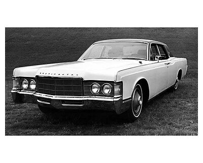 1969 Lincoln Continental Four Door Sedan ORIGINAL Factory Photo oub2074