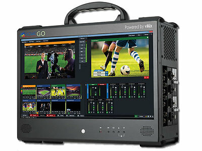 vMix GO Base Portable Live Production Solution with 8 HD-SDI