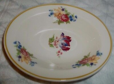 Sweet Small Oval Dish Restaurant Ware Syracuse China Floral 93-K USA