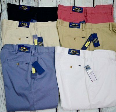 """NWT Polo Ralph Lauren Mens Classic Fit Flat Front 9"""" Shorts 32 33 34 35 36 40"""