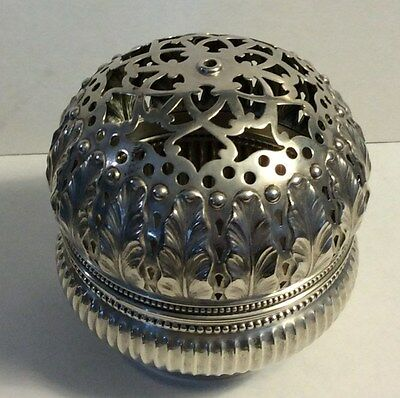 Antique Gorham Sterling Silver 1880's  Ball Thread  Holder Sewing #312