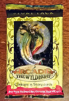 Changeling the Dreaming CCG - Arcadia: The Wyld Hunt story pack sealed booster