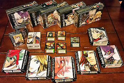 .Hack//Enemy TCG complete lot of all booster box and starter deck, foils, GIFT