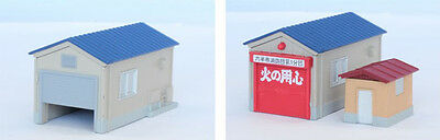 Rokuhan S050-2 Z Scale Small House Set (Blue) (1/220 Z Scale)