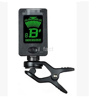New Clip on LCD Digital Chromatic Electronic Guitar Tuner Bass Violin US