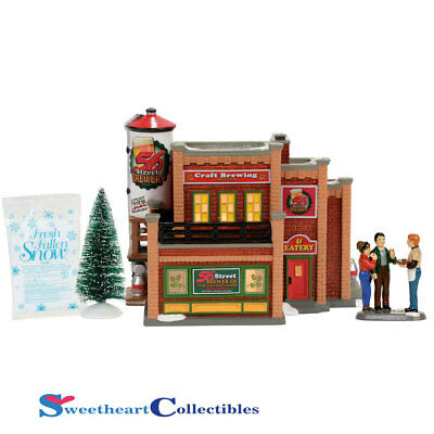 Dept 56 Snow Village 4056682 56 Street Brewery Box Set 2017