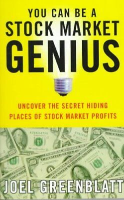 You Can be a Stock Market Genius Uncover the Secret Hiding Plac... 9780684840079