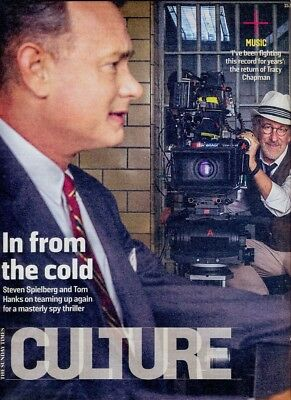 TOM HANKS - Cover & Feature in Sunday Times CULTURE Magazine, Nov 2015