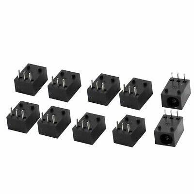 10pcs 3 Broches 3.5x1.3mm Jack d'Alimentation DC Port Charge Connecteur Femelle