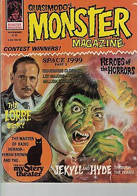 Quasimodo's MONSTERS HORROR MAGAZINE COMIC VOLUME 1 NUMBER 5