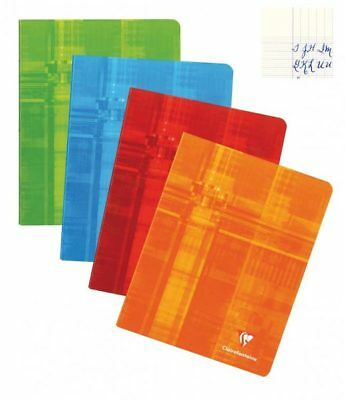 Clairefontaine Staplebound One Notebook - French Ruled, 8.25x11.75