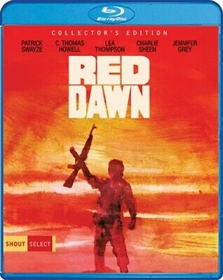 RED DAWN New Sealed Blu-ray Collector's Edition 1984 Patrick Swayze