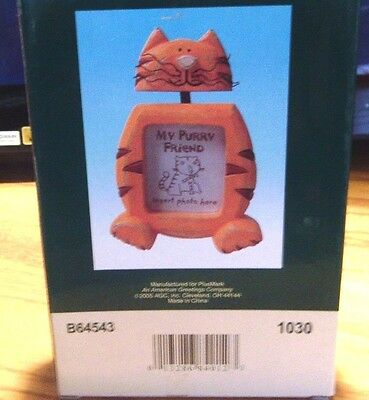 """American Greetings The Finishing Touch  """" My Purry Friend """" Cat Frame Nib New"""