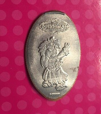 Retired LILO Disney's Polynesian Resort Elongated Pressed Penny Quarter