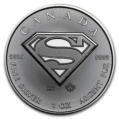 1 oz 2016 Silver SUPERMAN™ S-Shield
