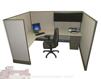 6x8 Herman Miller Work Station Office Cubicles
