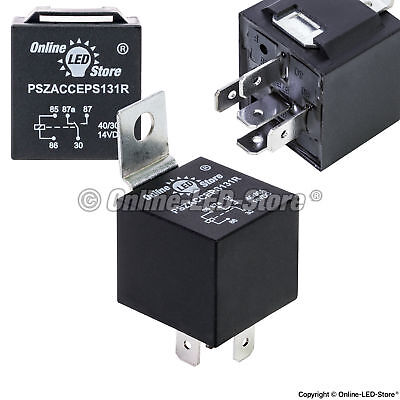 OLS 12V 30/40 Amp 5-Pin SPDT Bosch Style Electrical Relay