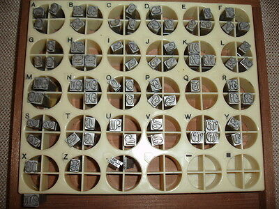 Kingsley Stamping Machine 24 Point OLD ENGLISH Capitals