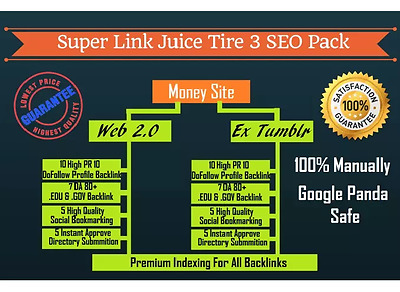 Build manually exclusive website SEO backlinks pyramid... EDU , GOV ,Web 2.0 etc