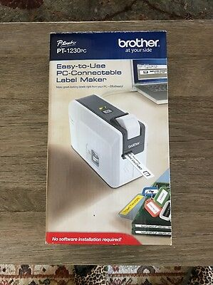 Brother PC-Connectable Label Maker (PT-1230PC), New In box