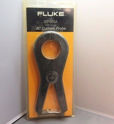 Vintage FLUKE 80i-600A AC Current Probe NEW IN UNOPENED PACKAGE