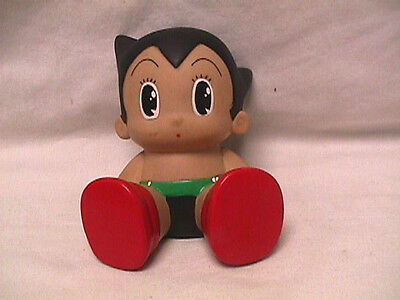 ASTRO BOY Small Hard Vinyl Anime Character BANK Tazuka Productions SPEJ Japan 4""