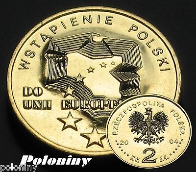 Coin Of Poland - 2004 Poland's Asseccion To European Union (Mint)
