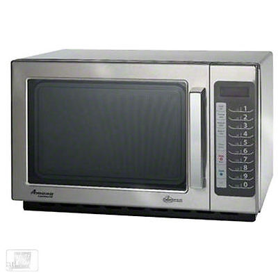 Microwave Oven, Amana Commercial, 1000 Watts, Model    RCS10TS