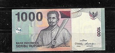 Indonesia #141K 2011 Unc Mint New 1000 Rupiah Banknote Bill Note Paper Money