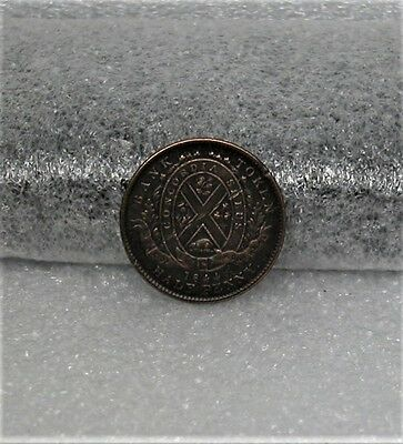 1844 Half Cent 1/2 P Penny Old Canadian Bank of Montreal Token Canada Colonial