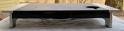 Fellowes Computer Monitor Stand Riser with Storage Drawer