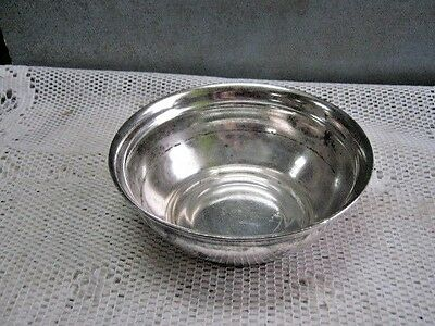 "Reed & Barton OLYMPIC HOTEL #2800 Vintage Silver Bowl Approx. 5"" Across"