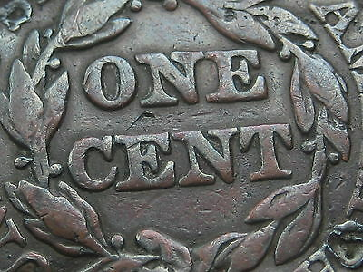 1846 Braided Hair Large Cent, Small Date, Fine/VF Details