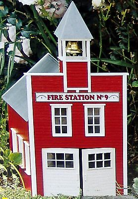 PIKO FIRE STATION No. 9   G Scale Building Kit # 62214  New in Box