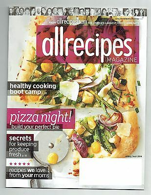 2016-2017 Allrecipes Magazine 5 Issue Lot Game Changing Burgers!