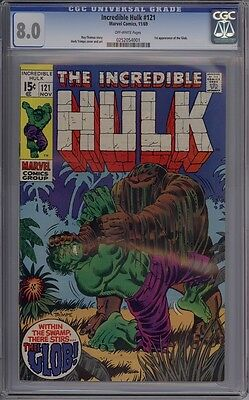 Incredible Hulk #121 - CGC Graded 8.0
