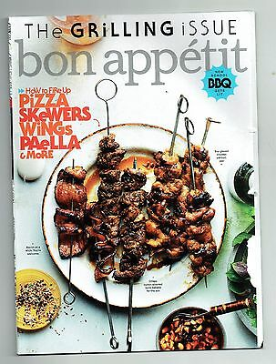 2016-2017 Bon Appetit Magazine 9 Issue Lot Pizza Skewers Wings!