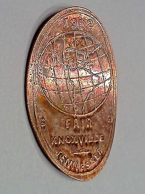 1982 WORLD'S FAIR KNOXVILLE TENNESSEE-Elongated / Pressed Penny B-269