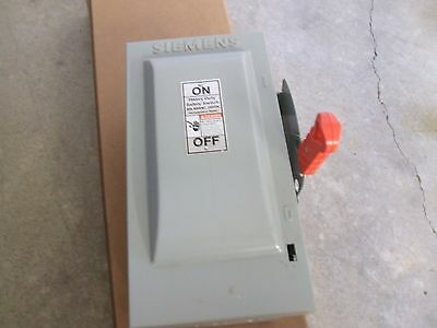 siemans 30 amp safety switch fusible new 600v 3pole