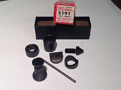 Starrett Jack Screw No. S191 Complete With Box