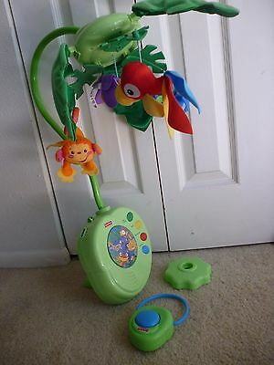 Fisher-Price Musical Rainforest Mobile with remote