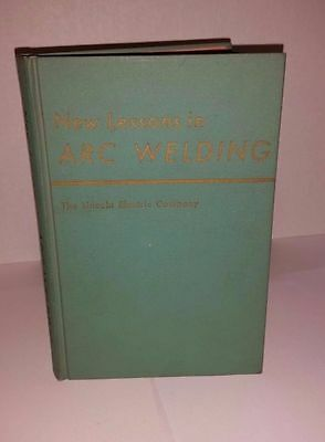 Vintage 1971 New Lessons in Arc Welding by The Lincoln Electric Co