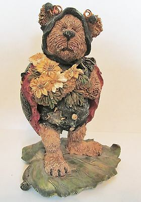 """Boyds Bears   Tweedle Bedeedle  """"stop And Smell The Flowers""""  #227730"""