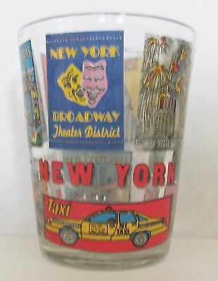 New York City Featuring The Sites Of New York   Short Shot Glass