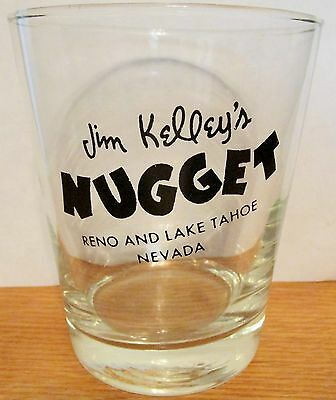 Jim Kelly's  Reno & Lake Tahoe, Nevada   Vintage High Ball Glass