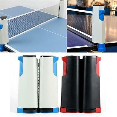 Retractable Table Tennis Net Portable Replacement Ping Pong Net Set Sports - CB